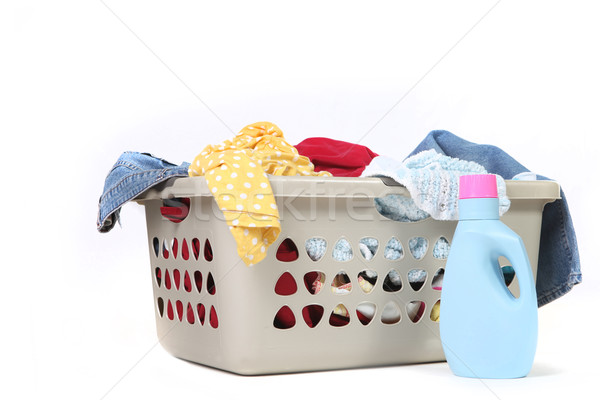 Household Chore of Laundry Waiting to Be Done Stock photo © tobkatrina