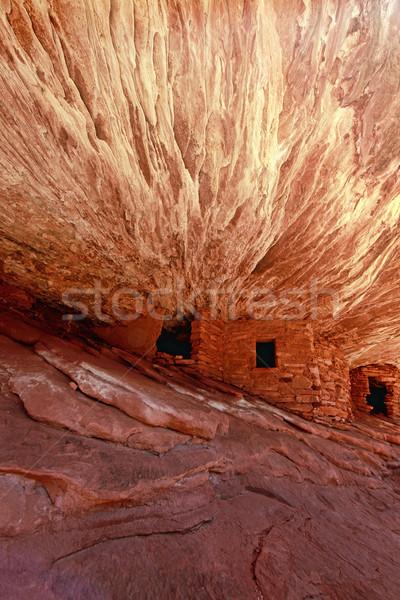 ホーム 遺跡 ネイティブ アメリカン 人 ストックフォト © tobkatrina