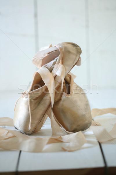 靴 自然光 ロマンチックな ファッション レトロな ヴィンテージ ストックフォト © tobkatrina