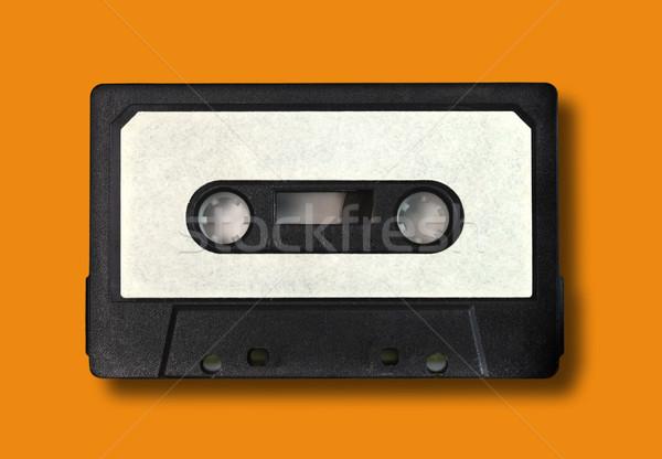 Retro Vintage Audio Cassette Tape Stock photo © tobkatrina