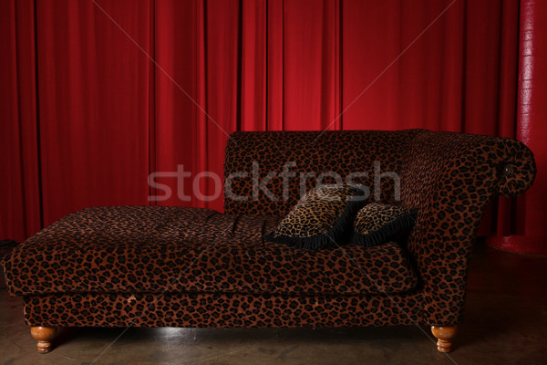 Stage Theater Drape Curtain Element Stock photo © tobkatrina