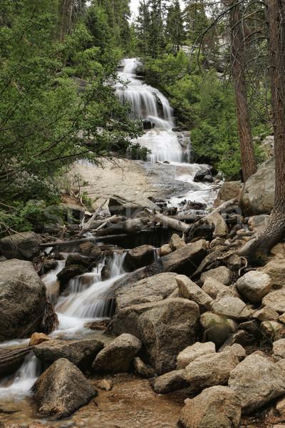 美しい 滝 カリフォルニア 水 旅行 公園 ストックフォト © tobkatrina