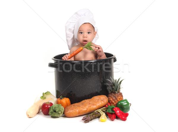 説明 家族 赤ちゃん 生活 喜び ストックフォト © tobkatrina