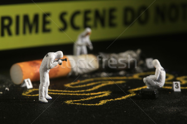 Tiny Miniature Scaled People in Curious Concepts Stock photo © tobkatrina