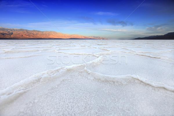 Morte vale Califórnia ruim água sal Foto stock © tobkatrina