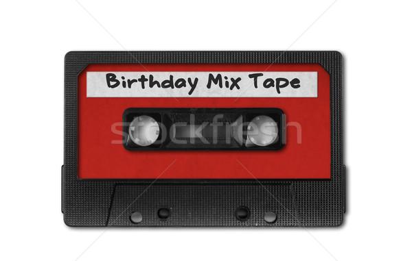レトロな ヴィンテージ オーディオ カセット テープ 古い ストックフォト © tobkatrina