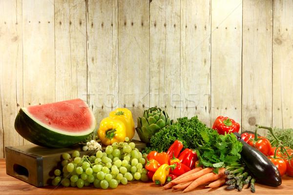 Foto d'archivio: Alimentari · produrre · legno · alimentare