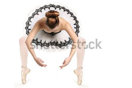 バレエダンサー 伝統的な パンケーキ パフォーマンス 少女 ストックフォト © tobkatrina