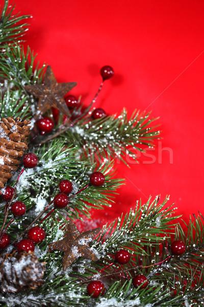 クリスマス 休日 壁紙 文字 背景 ストックフォト © tobkatrina
