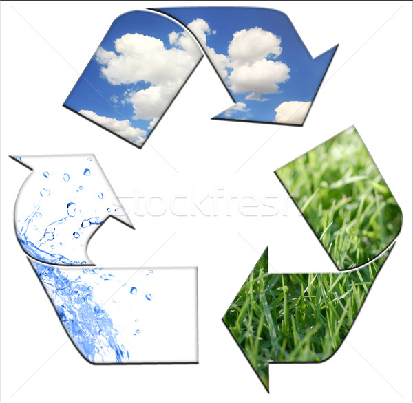 Recycling to Keeping the Environment Clean  Stock photo © tobkatrina