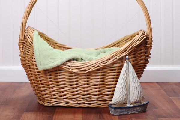 Blank Styled Studio Set to Insert a Baby, Child or Animal. Isola Stock photo © tobkatrina