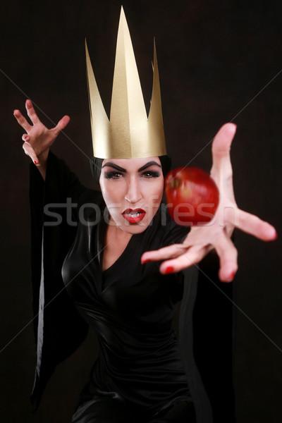 Karanlık fantezi karakter altın Stok fotoğraf © tobkatrina