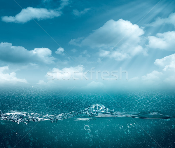 Abstract sea and ocean backgrounds for your design Stock photo © tolokonov