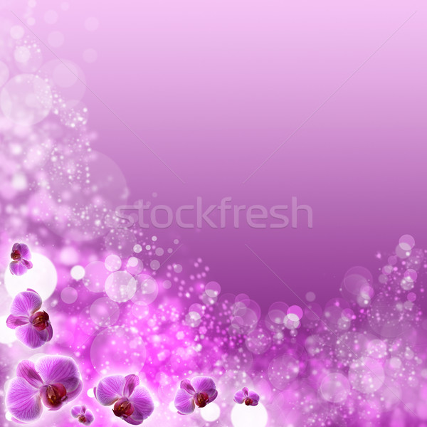 beautiful abstract optimistic backgrounds with defocused bokeh Stock photo © tolokonov