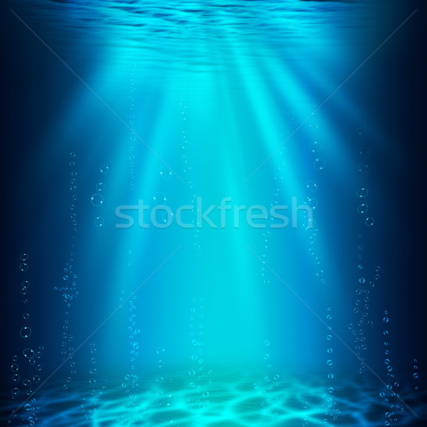 Abîme résumé subaquatique horizons design eau Photo stock © tolokonov