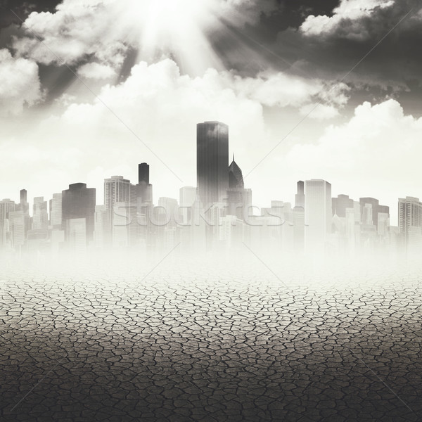 Abstract Apocalyptic backgrounds for your design Stock photo © tolokonov