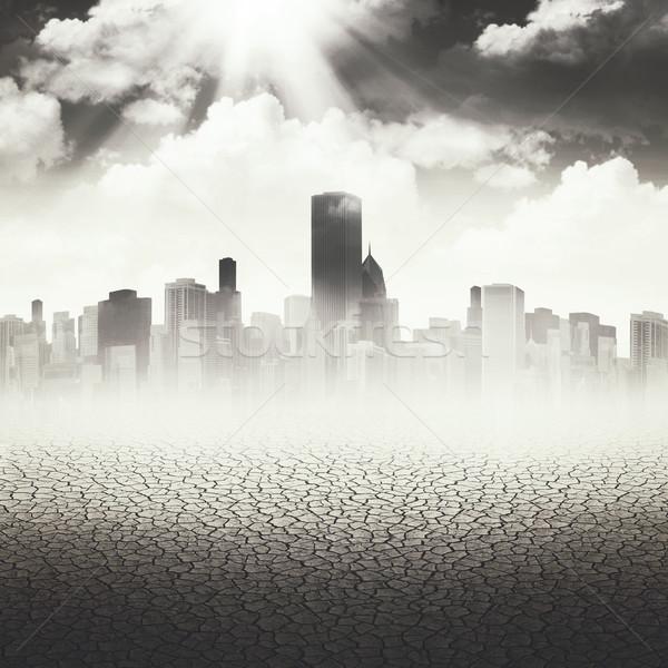 Resumen apocalíptico fondos diseno cielo naturaleza Foto stock © tolokonov