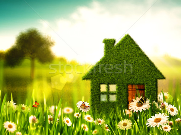 Green House. Abstract environmental backgrounds Stock photo © tolokonov