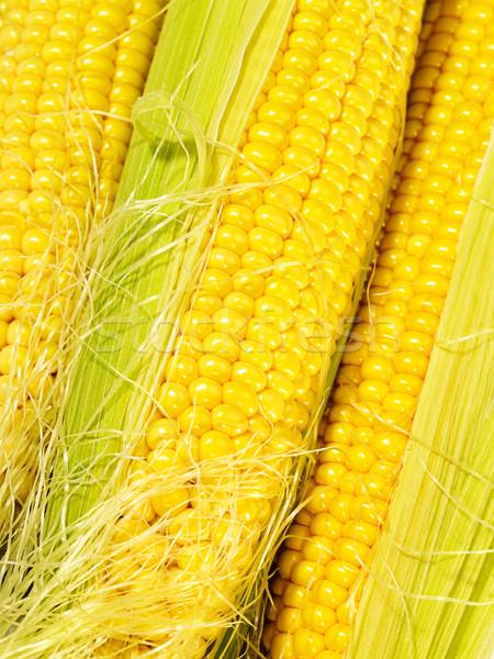 свежие вкус кукурузы продовольствие не изолированный Сток-фото © tolokonov