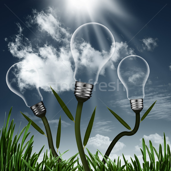 Abstract alternative energy backgrounds for your design Stock photo © tolokonov