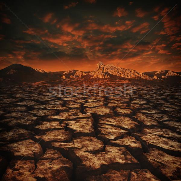 Absztrakt öko környezeti hátterek terv naplemente Stock fotó © tolokonov