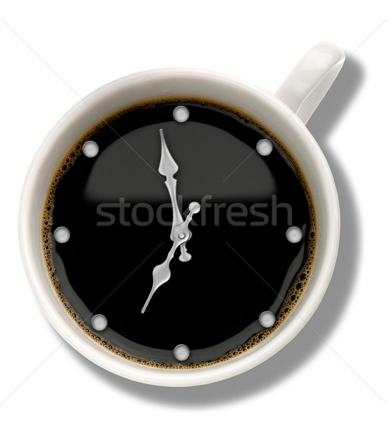 Coffee watch. Abstract food and drink backgrounds Stock photo © tolokonov