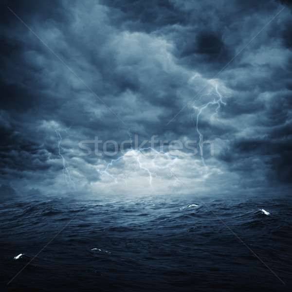 Stormy ocean, abstract natural backgrounds for your design Stock photo © tolokonov