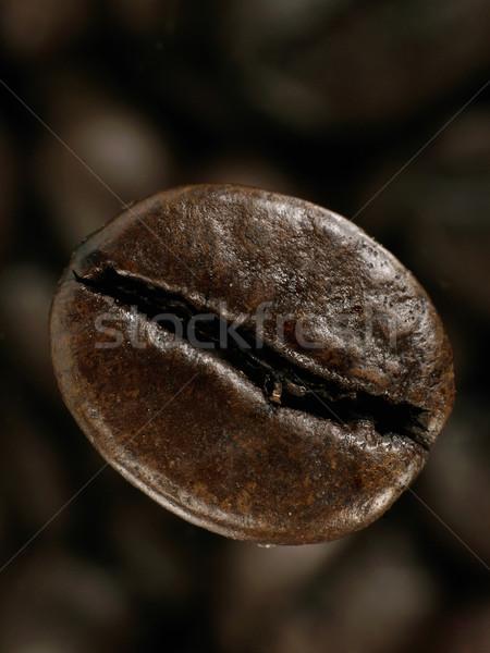 Kávébab mély árnyékok magvak kávé fekete Stock fotó © tolokonov