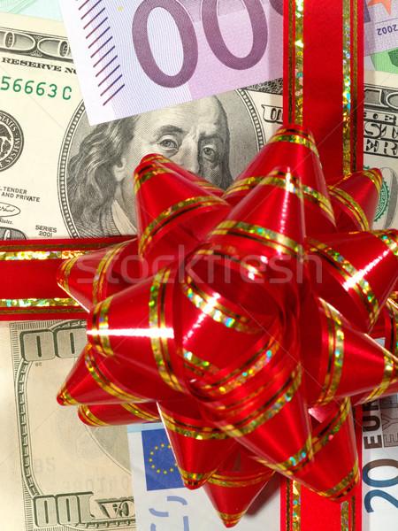 xmas financial background Stock photo © tolokonov