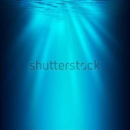 Abyss. Abstract underwater backgrounds for your design Stock photo © tolokonov
