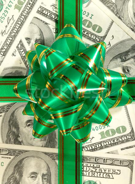 Ceny sto dar czerwony banku Zdjęcia stock © tolokonov