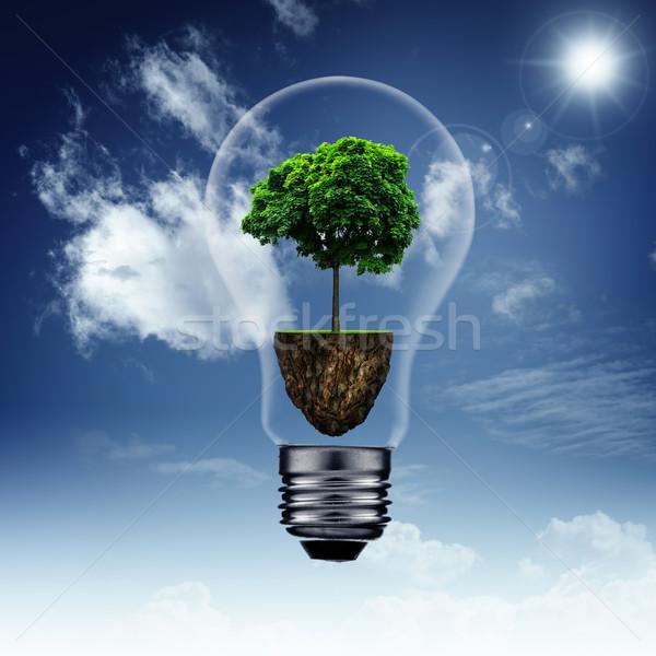 Energy savings and eco backgrounds for your design Stock photo © tolokonov
