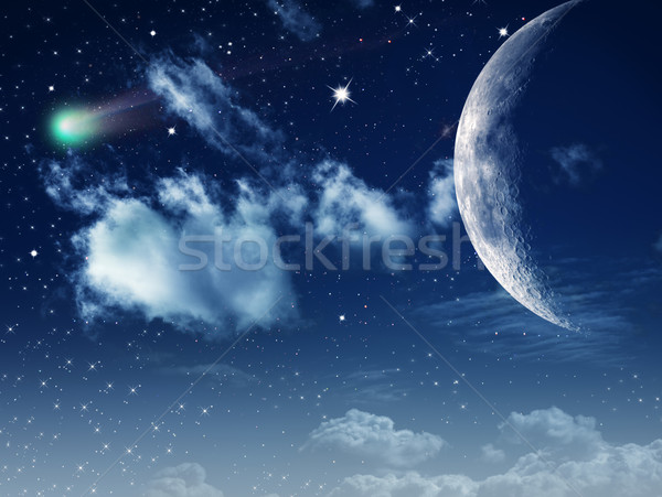 Moonlight. Abstract natural backgrounds for your design Stock photo © tolokonov