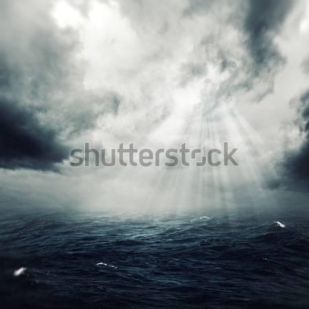 Stockfoto: Stormachtig · nacht · abstract · achtergronden · ontwerp