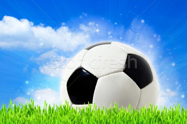 abstract football backgrounds with beauty bokeh Stock photo © tolokonov