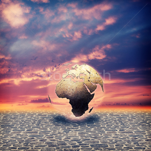 Save the Earth. Abstract environmental backgrounds for your desi Stock photo © tolokonov