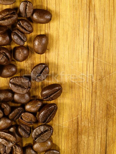 кофе столе продовольствие пить зерна Сток-фото © tolokonov