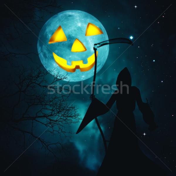 Heureux halloween résumé horreur horizons design Photo stock © tolokonov