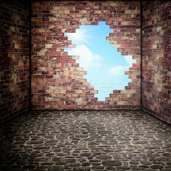 Out of city, abstract conceptual backgrounds for your design Stock photo © tolokonov