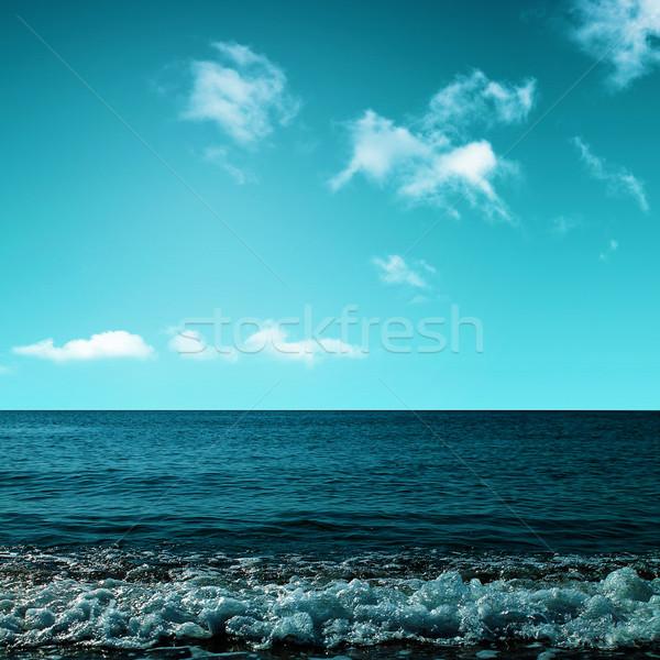 Schoonheid oceaan abstract milieu achtergronden water Stockfoto © tolokonov