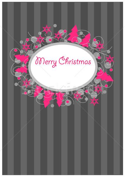 Coloré Noël carte postale texture Photo stock © tomasz_parys