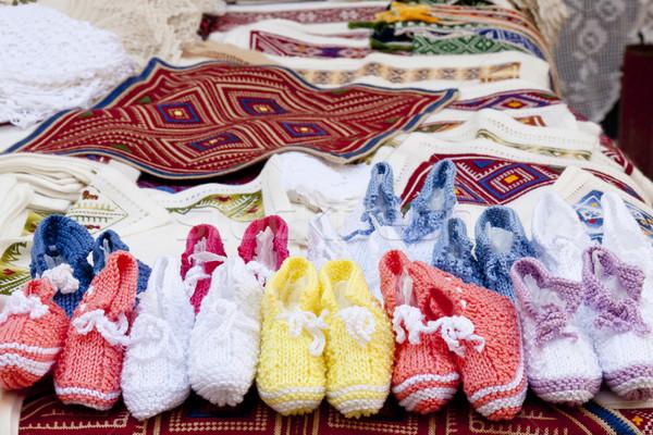 詳細 通り 市場 ドゥブロブニク クロアチア ユネスコ ストックフォト © tomasz_parys