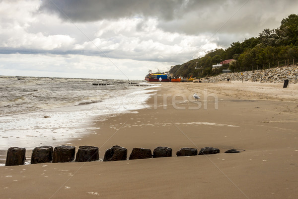 Beach in Rewal - Poland. Stock photo © tomasz_parys