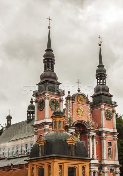 Famous church in Holy Lipka - Poland. Stock photo © tomasz_parys