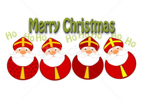 Funny christmas ilustration Stock photo © tomasz_parys