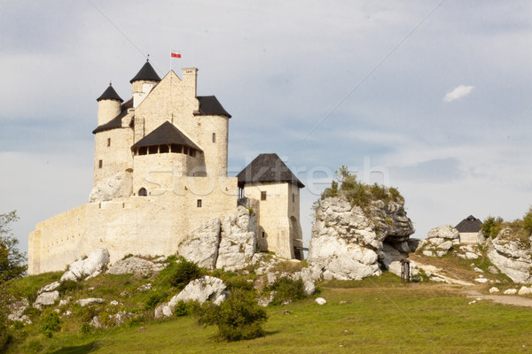 Castle in Bobolice - Polnad Stock photo © tomasz_parys