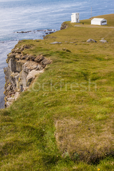Cliffs on Latrabjarg - Iceland. Stock photo © tomasz_parys