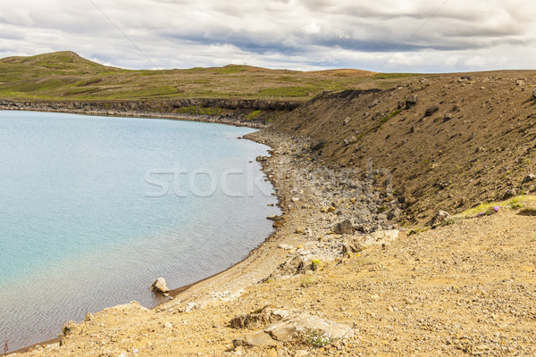 Kleifarvatn lake - Iceland. Stock photo © tomasz_parys