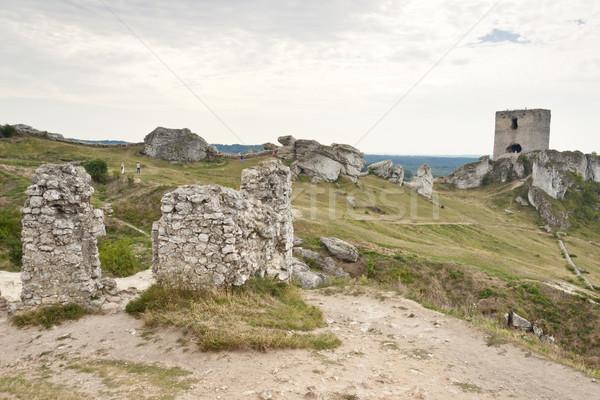 Castle in Olsztyn, Poland. Stock photo © tomasz_parys