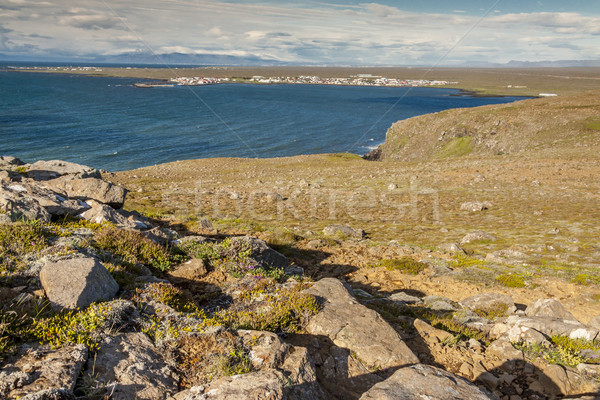 View on Stakksfjordur - Iceland Stock photo © tomasz_parys